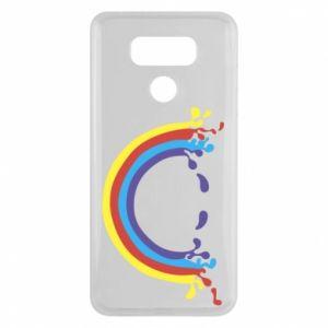 LG G6 Case Smiling rainbow