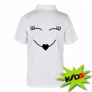 Children's Polo shirts Smiling face