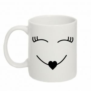 Mug 330ml Smiling face