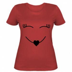 Women's t-shirt Smiling face