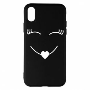 Phone case for iPhone X/Xs Smiling face