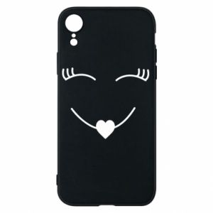 Phone case for iPhone XR Smiling face