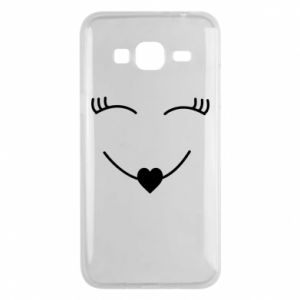 Phone case for Samsung J3 2016 Smiling face