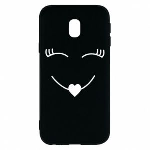Phone case for Samsung J3 2017 Smiling face