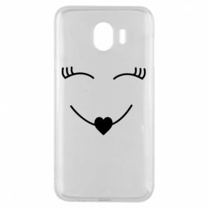 Phone case for Samsung J4 Smiling face