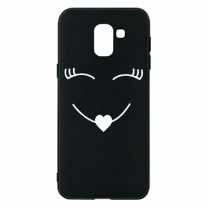 Phone case for Samsung J6 Smiling face