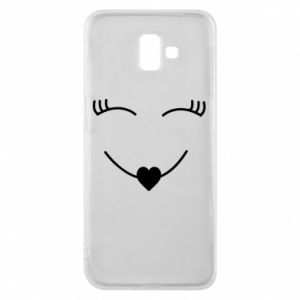 Phone case for Samsung J6 Plus 2018 Smiling face