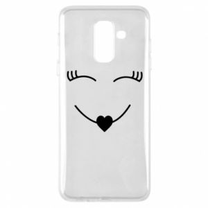 Phone case for Samsung A6+ 2018 Smiling face