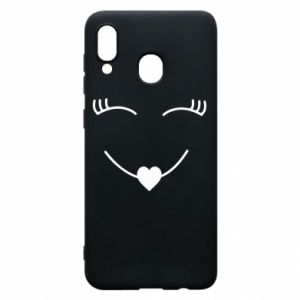 Phone case for Samsung A20 Smiling face