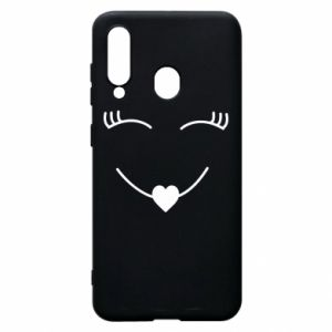 Phone case for Samsung A60 Smiling face