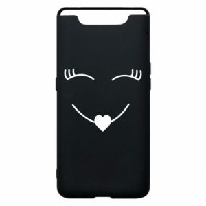 Phone case for Samsung A80 Smiling face