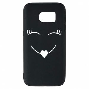 Phone case for Samsung S7 Smiling face