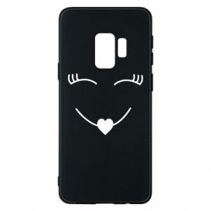 Phone case for Samsung S9 Smiling face