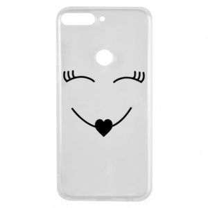 Phone case for Huawei Y7 Prime 2018 Smiling face