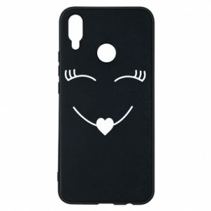 Phone case for Huawei P Smart Plus Smiling face