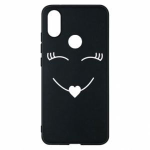 Phone case for Xiaomi Mi A2 Smiling face