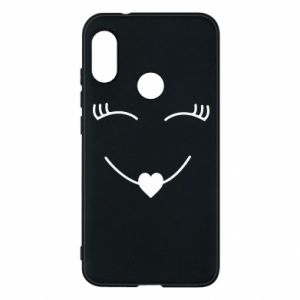 Phone case for Mi A2 Lite Smiling face