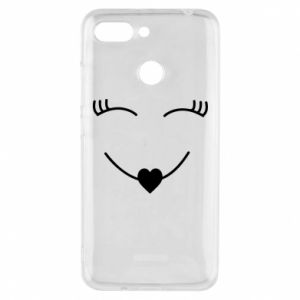 Phone case for Xiaomi Redmi 6 Smiling face