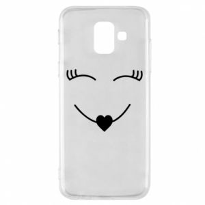 Phone case for Samsung A6 2018 Smiling face