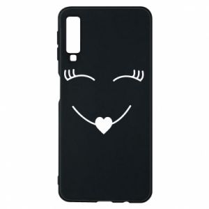 Phone case for Samsung A7 2018 Smiling face