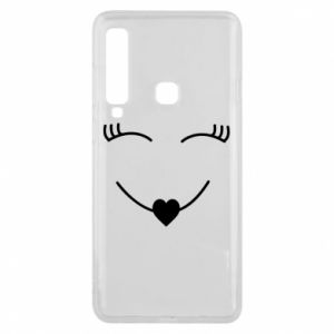 Phone case for Samsung A9 2018 Smiling face