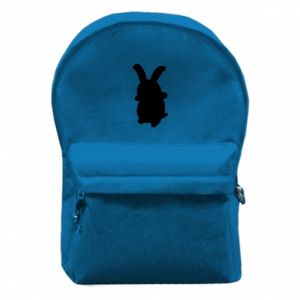 Backpack with front pocket Smiling Bunny