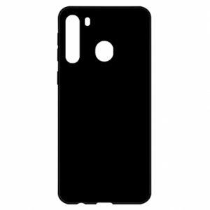 Samsung A21 Case Smiling Bunny