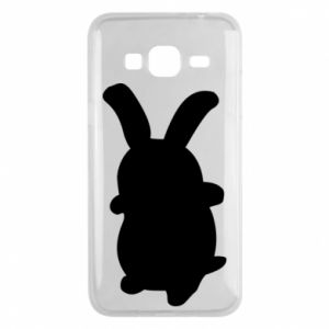 Phone case for Samsung J3 2016 Smiling Bunny