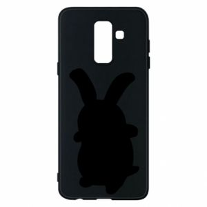 Phone case for Samsung A6+ 2018 Smiling Bunny