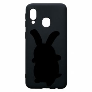 Phone case for Samsung A40 Smiling Bunny
