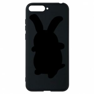 Phone case for Huawei Y6 2018 Smiling Bunny