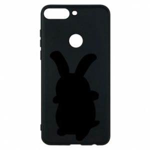 Phone case for Huawei Y7 Prime 2018 Smiling Bunny