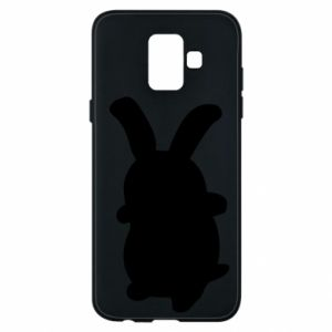 Phone case for Samsung A6 2018 Smiling Bunny