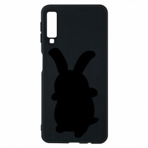 Phone case for Samsung A7 2018 Smiling Bunny