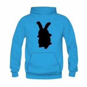 Kid's hoodie Smiling Bunny