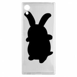 Sony Xperia XA1 Case Smiling Bunny