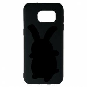 Samsung S7 EDGE Case Smiling Bunny