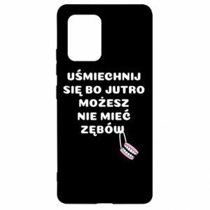 Etui na Samsung S10 Lite Uśmiechnij się bo...
