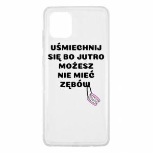 Etui na Samsung Note 10 Lite Uśmiechnij się bo...