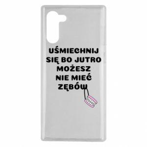 Etui na Samsung Note 10 Uśmiechnij się bo...