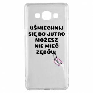 Etui na Samsung A5 2015 Uśmiechnij się bo...
