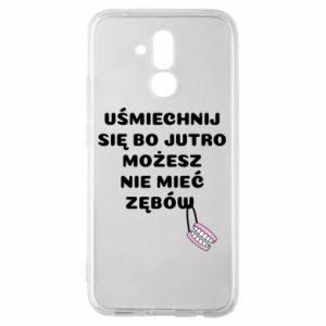Etui na Huawei Mate 20 Lite Uśmiechnij się bo...