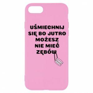 Etui na iPhone SE 2020 Uśmiechnij się bo...
