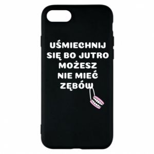 Etui na iPhone 8 Uśmiechnij się bo...