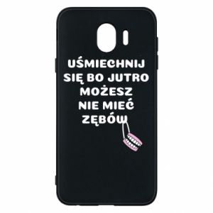 Phone case for Samsung J4 Smile because you can... - PrintSalon