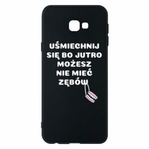 Phone case for Samsung J4 Plus 2018 Smile because you can... - PrintSalon