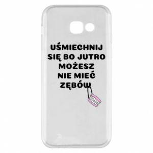 Etui na Samsung A5 2017 Uśmiechnij się bo...