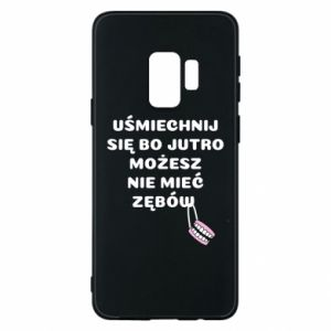 Phone case for Samsung S9 Smile because you can... - PrintSalon