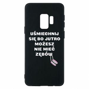 Etui na Samsung S9 Uśmiechnij się bo...