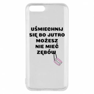 Phone case for Xiaomi Mi6 Smile because you can... - PrintSalon